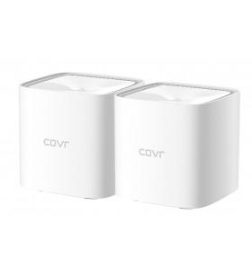 D-Link COVR-1102 repetoare de rețea Transmițător rețea 10,100,1000 Mbit s Alb