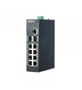 Dahua Europe PFS3211-8GT switch-uri Fara management L2 Gigabit Ethernet (10 100 1000) Negru