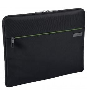 """Leitz 62240095 genți pentru notebook-uri 39,6 cm (15.6"""") Geantă Sleeve Negru, Verde"""
