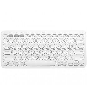 Logitech K380 tastaturi Bluetooth QZERTY US International Alb