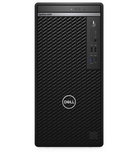 DELL OptiPlex 5080 10th gen Intel® Core™ i5 i5-10500 8 Giga Bites DDR4-SDRAM 256 Giga Bites SSD Mini Tower Negru PC-ul Windows