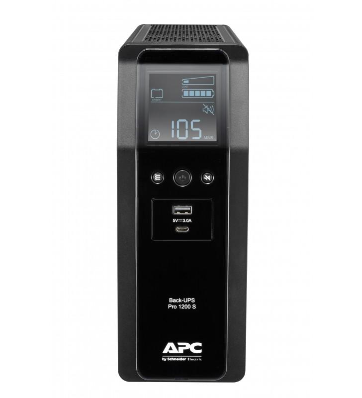 APC BACK UPS PRO BR 1200VA surse neîntreruptibile de curent (UPS) Line-Interactive 720 W 8 ieșire(i) AC