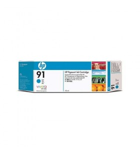 HP C9470A INK 91 LIGHT CYAN...