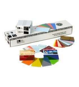 Zebra blank PVC cards w/...