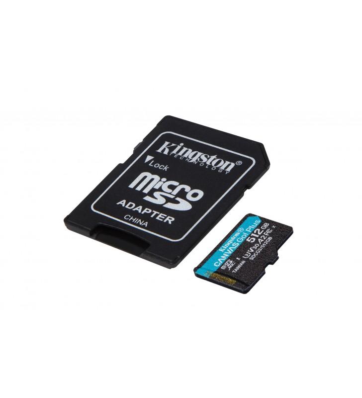 Kingston Technology Canvas Go! Plus memorii flash 512 Giga Bites MicroSD Clasa 10 UHS-I