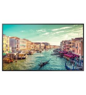 "Samsung QM55R 138,7 cm (54.6"") LED 4K Ultra HD Panou informare digital de perete Negru Tizen 4.0"