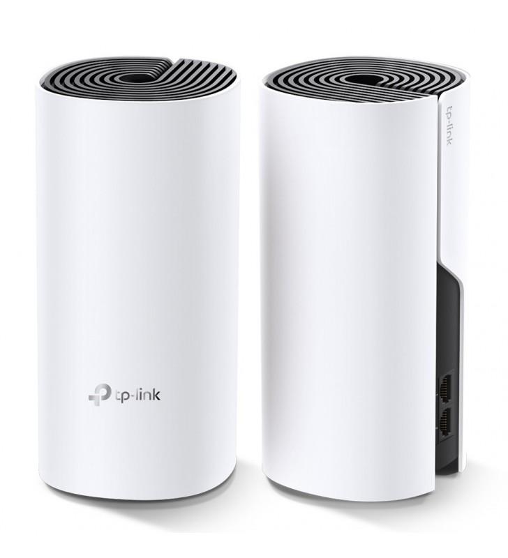 TP-LINK Deco M4(2-pack) Alb Intern Bandă dublă (2.4 GHz  5 GHz) Wi-Fi 5 (802.11ac)