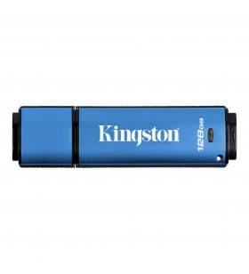 Kingston Technology DataTraveler DTVP30 memorii flash USB 128 Giga Bites USB Tip-A 3.2 Gen 2 (3.1 Gen 2) Albastru