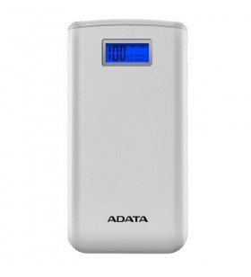 POWER BANK ADATA 20000mAh, 2 x USB, digital display pt. status baterie, S20000D LiPo 20.000 mAh, total 2.1A out, lanterna LED, w