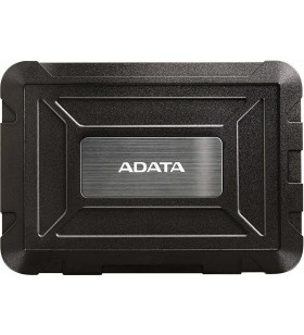 "RACK EXTERN ADATA 2.5"" HDD S-ATA to USB 3.1, waterproof, ED600, black ""AED600-U31-CBK"""