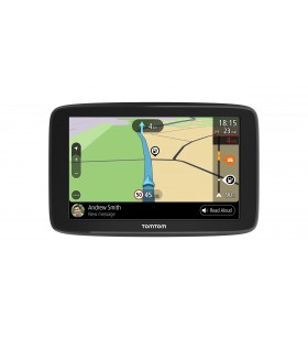 "TomTom GO Basic navigatoare 15,2 cm (6"") Ecran tactil Fix Negru 280 g"