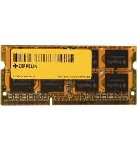 """SODIMM ZEPPELIN DDR3/1333  4GB (dual channel) """"ZE-SD3-4G1333"""""""