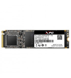"""SSD ADATA M.2 PCIe. 1TB, Gen3 x4, XPG  SX6000 Pro 3D TLC NAND, R/W up to 2100/1500MB """"ASX6000PNP-1TT-C"""""""
