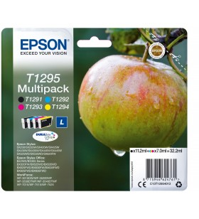 Epson Apple Multipack 4-Coulered T1295 DURABrite Ultra Ink