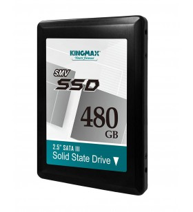 "SSD KINGMAX 2.5"" SATA3 480GB SMV32 3D TLC NAND R/W up to 500/480MB/s ""KM480GSMV32"""