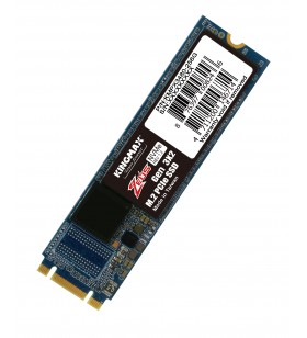 "SSD KINGMAX M.2 PCIe 256GB, Gen3 x4, Zeus PX3480 3D TLC NAND, R/W up to 3000/1000MB ""KMPX3480-256G"""