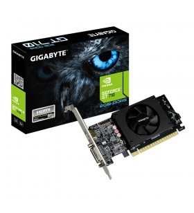 Gigabyte GV-N710D5-2GL plăci video NVIDIA GeForce GT 710 2 Giga Bites GDDR5