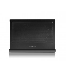 "STAND DEEPCOOL notebook 17"", sita metal &amp filtru praf lavabil, 2 x fan 14cm, 1 x port USB 3.0 pass-through, black, ""N65"""