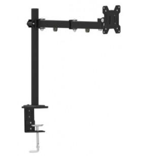 """BRAT sustinere monitor, un monitor, ajustare orizontala si verticala, max. 27"""", max. 8 Kg, Compatibil VESA max. 100 x 100 mm, G"""
