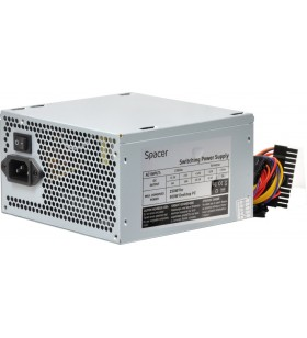 "SURSA SPACER 500 (250W for 500W Desktop PC), fan 120mm, Switch ON/OFF ""SPS-ATX-500-V12"""