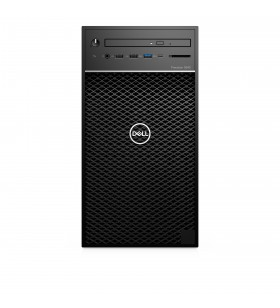 DELL Precision 3640 10th gen Intel® Core™ i7 i7-10700 8 Giga Bites DDR4-SDRAM 256 Giga Bites SSD Tower Negru PC-ul Windows 10
