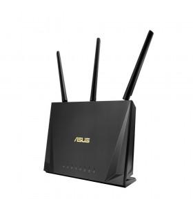 ASUS RT-AC85P router wireless Bandă dublă (2.4 GHz  5 GHz) Gigabit Ethernet Negru