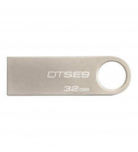Kingston Technology DataTraveler SE9 memorii flash USB 32 Giga Bites USB Tip-A 2.0 Argint