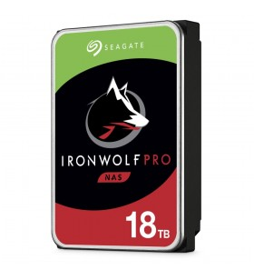 "Seagate IronWolf Pro ST18000NE000 hard disk-uri interne 3.5"" 18000 Giga Bites ATA III Serial"