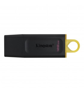 Kingston Technology DataTraveler Exodia memorii flash USB 128 Giga Bites USB Tip-A 3.2 Gen 1 (3.1 Gen 1) Negru