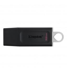 Kingston Technology DataTraveler Exodia memorii flash USB 32 Giga Bites USB Tip-A 3.2 Gen 1 (3.1 Gen 1) Negru