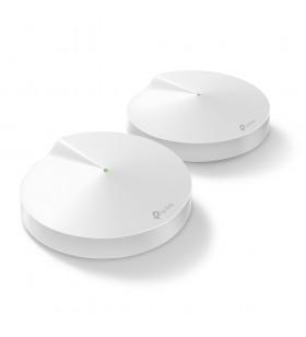 TP-LINK Deco M9 Plus(2-pack) Alb Intern Tri-band (2.4 GHz   5 GHz   5 GHz) Wi-Fi 5 (802.11ac)