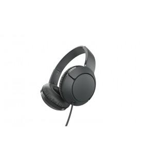 TCL MTRO200BK cască audio & cască cu microfon Căști Bandă de fixare pe cap Negru