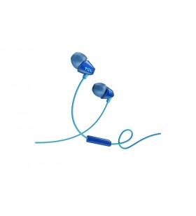 TCL SOCL100BL cască audio & cască cu microfon Căști În ureche Albastru