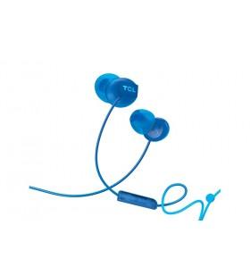 TCL SOCL300BL cască audio & cască cu microfon Căști În ureche Albastru