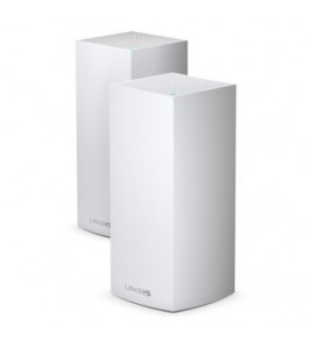 Linksys MX10600-EU router wireless Tri-band (2.4 GHz   5 GHz   5 GHz) Gigabit Ethernet Negru, Alb