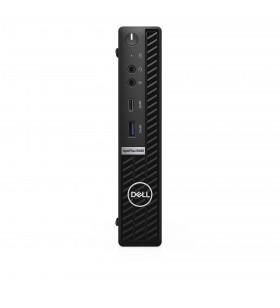 DELL OptiPlex 5080 10th gen Intel® Core™ i5 i5-10500T 8 Giga Bites DDR4-SDRAM 256 Giga Bites SSD MFF Negru Mini PC Windows 10