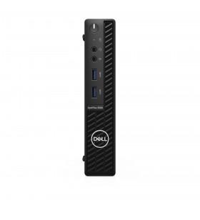 DELL OptiPlex 3080 10th gen Intel® Core™ i5 i5-10500T 8 Giga Bites DDR4-SDRAM 256 Giga Bites SSD MFF Negru Mini PC Windows 10