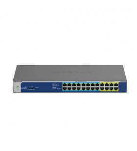 Netgear GS524UP Fara management Gigabit Ethernet (10 100 1000) Gri Power over Ethernet (PoE) Suport