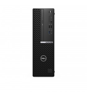 DELL OptiPlex 5080 10th gen Intel® Core™ i5 i5-10500 16 Giga Bites DDR4-SDRAM 256 Giga Bites SSD SFF Negru PC-ul Windows 10 Pro