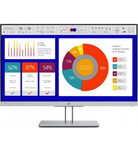 "HP EliteDisplay E243p 60,5 cm (23.8"") 1920 x 1080 Pixel Full HD LED Negru, Argint"