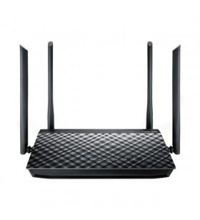 ASUS RT-AC57U router wireless Bandă dublă (2.4 GHz  5 GHz) Gigabit Ethernet Negru