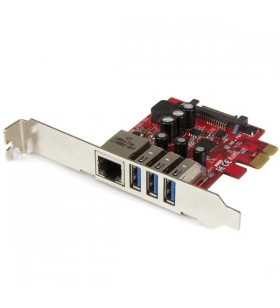 StarTech.com PEXUSB3S3GE plăci de rețea Ethernet 5000 Mbit s Intern