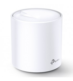 TP-LINK Deco X20 (1-pack) Alb Intern Bandă dublă (2.4 GHz  5 GHz) Wi-Fi 5 (802.11ac) 2