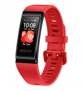 """Huawei Band 4 Pro AMOLED 2,41 cm (0.95"""") Dispozitiv monitorizare activitate tip brățară Roşu"""
