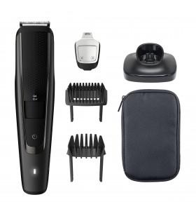 Philips BEARDTRIMMER Series 5000 Aparat de tuns barba cu setări de precizie de 0,2 m