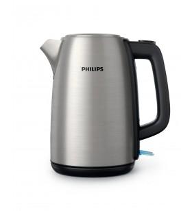 Philips Daily Collection Fierbător de 1,7 l cu capac cu resort metalic şi led indicator