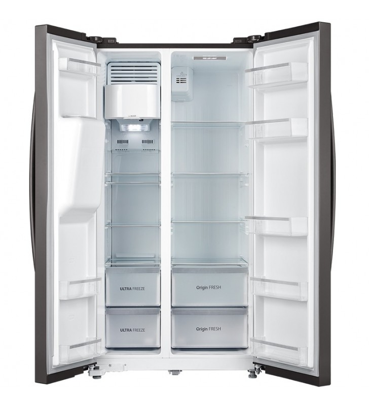 Toshiba GR-RS508WE-PMJ frigidere cu unități alipite (side by side) De sine stătător Gri 490 L A++