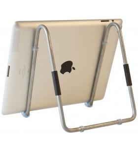 R-Go Tools RGOSC025 cărucioare și standuri pentru multimedia Stand multimedia Argint Tabletă