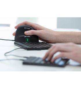 R-Go Tools RGOCOMSM-DE tastaturi USB Negru