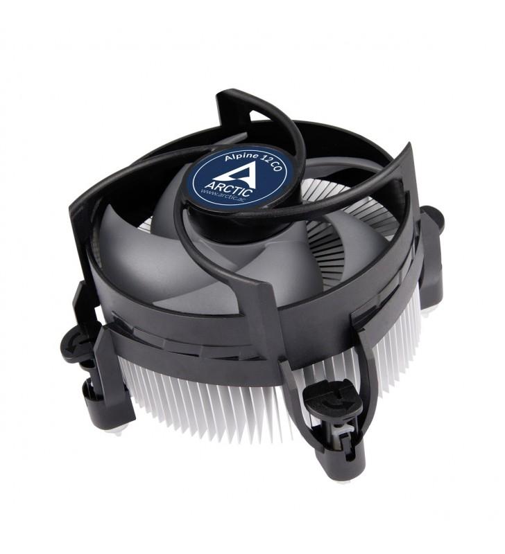 ARCTIC Alpine 12 CO Procesor Ventilator 9,2 cm Negru, Argint